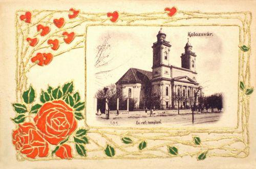 Kolozsvár:református templom.1900