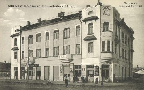 Adler ház (fűszer udvar),Honvéd utca 41 szám,1912.