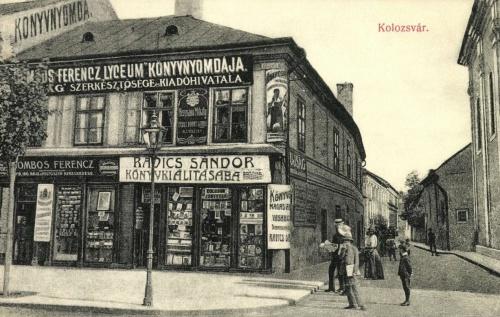 Liceumi könyvnyomda,ÚJSÁG szerkesztősége,kiadóhivatala,1909.