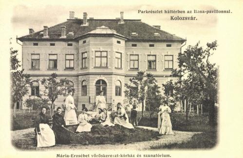 Mária-Erzsébet vöröskereszt korház,Ilona pavilon,1906.