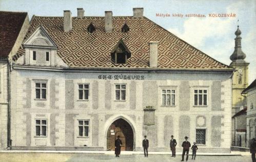 Mátyás király szülőháza,E.K.E múzeum,1913.