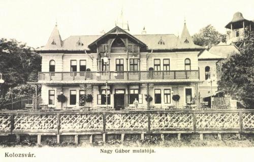 Kolozsvár:Nagy Gábor mulatója,1906.
