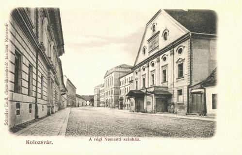 Kolozsvár:régi Nemzeti Szinház,1906.
