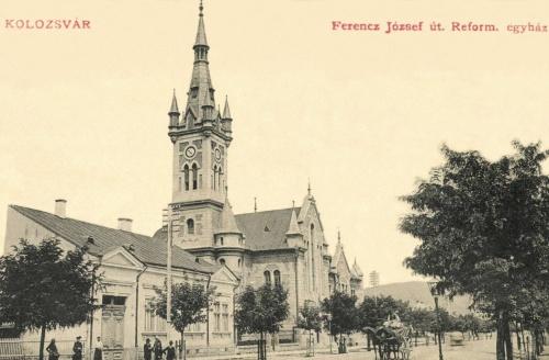 Református templom(hasonló a brassóihoz,amit lebontottak),1911.