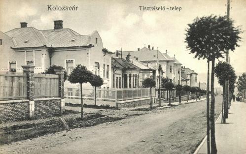 Kolozsvár:tisztviselő telep.1910