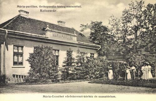Mária-Erzsébet vöröskereszt szanatórium,Mária pavilon,1906.