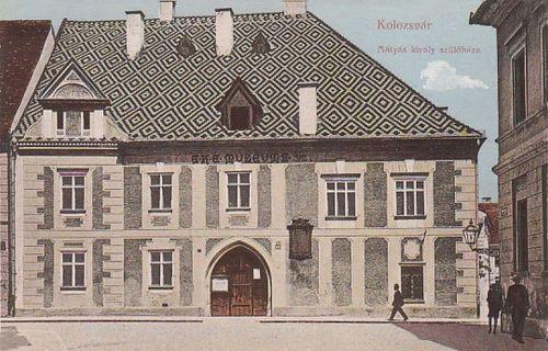 Kolozsvár:Mátyás király szülőháza.1913