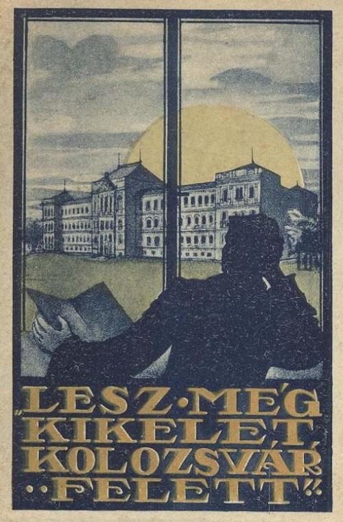 Kolozsvár:lesz még kikelet Kolozsvár felett.1920
