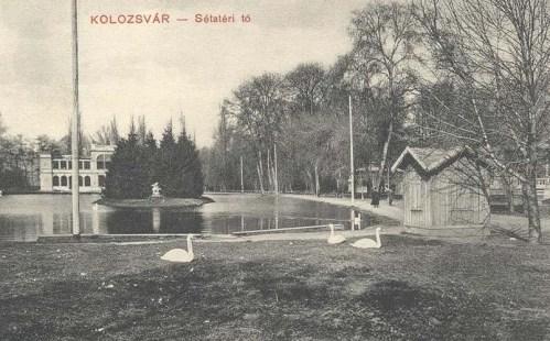 Kolozsvár:sétatéri tó.1911