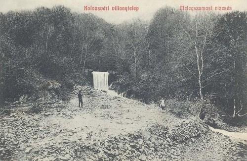 Kolozsvár:meleg szamosi vizesés.1908