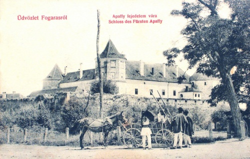 Fogaras:vár.1909
