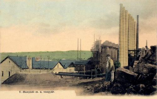 Vajdahunyad:Magyar Állami vasgyár.1904