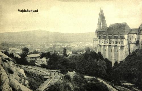 Vajdahunyad:vár látképe.1915