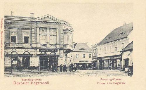 Fogaras:Sterzing utca.1903