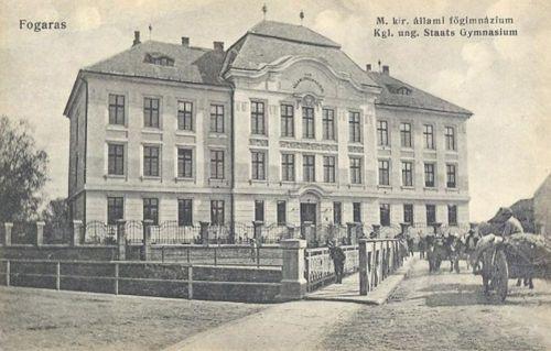 Fogaras:Magyar Királyi állami főgimnázium.1912