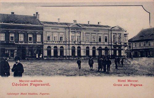 Fogaras:Merkur szálloda.1904