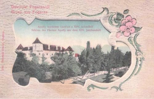 Fogaras:Apaffi erdélyi fejedelem kastélya a XIV századból.1902