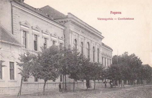 Fogaras:vármegyeháza.1909