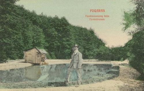 Fogaras:fejedelem asszony kútja.1908