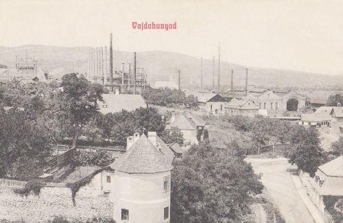Vajdahunyad:gyár.1908