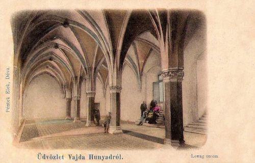 Vajdahunyad:lovag terem.1903