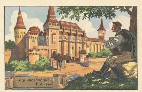 Vajdahunyad:régi dicsőségünk hol késel...(irredenta).1920