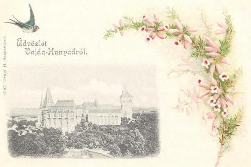 Vajdahunyad-Eisenmarkt-Hunedoara:vár 1905