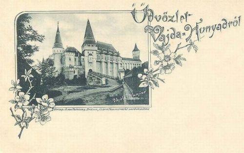 Vajdahunyad:vár látképe.1897
