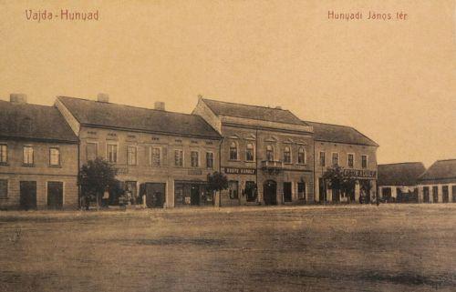 Vajdahunyad:Hunyadi János tér.1908