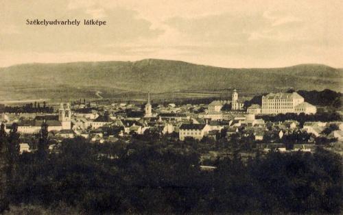 Székelyudvarhely:látkép.1912