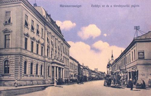 Máramarossziget:Törvényszéki palota.1911