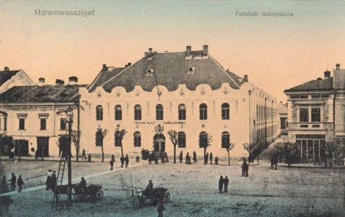 Máramarossziget:felső leányiskola.1912