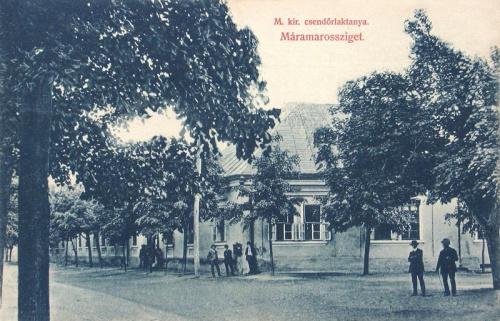 Máramarossziget:csendőr laktanya.1909