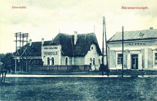 Máramarossziget:Zóna szálloda és vendéglő.1909
