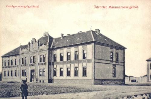 Máramarossziget:elmegyógyintézet.1910