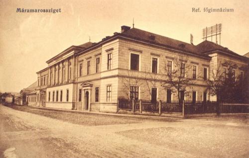 Máramarossziget:református főgimnázium.1912
