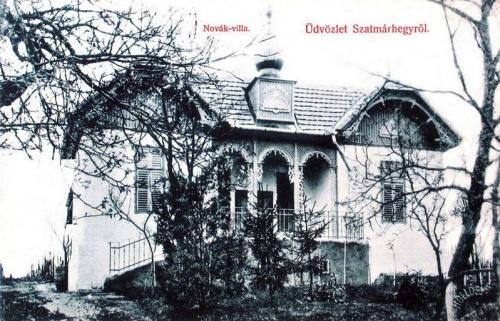 Szatmárhegy:Novák villa.1908