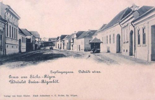 Szászrégen:Dedrádi utca.1901