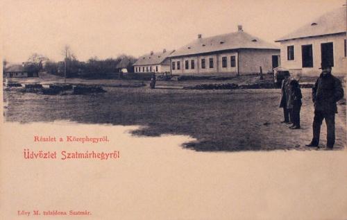 Szatmárhegy:Középhegy részlet.1901