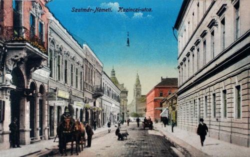 Szatmárnémeti:Kazinczy utca.1916