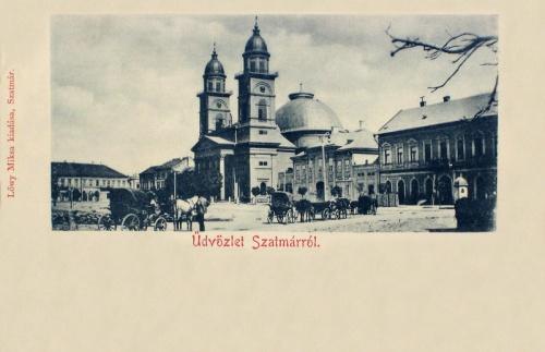 Szatmár:székesegyház.1900