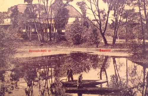 Szatmár:Kossuth kerti tó.1908