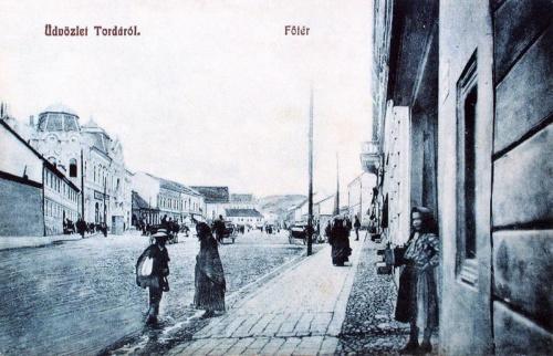 Torda:főtér.1909