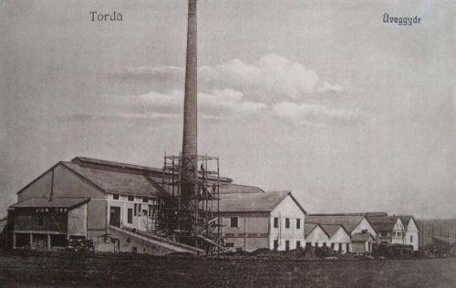 Torda:üveggyár.1917