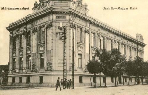 Máramarossziget:Osztrák- Magyar bank.1912