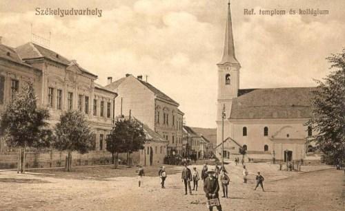 Székelyudvarhely:református templom és kollégium.1911