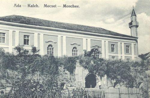 Ada-Kaleh,török mecset(ma viz alatt van az egész sziget) 1910