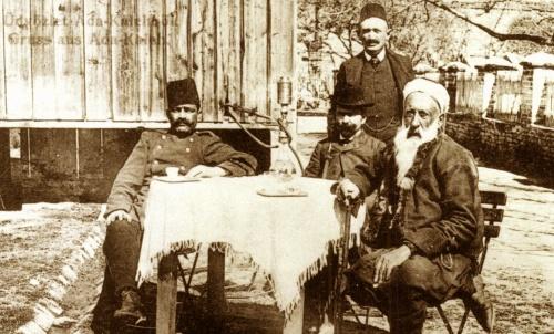 Ada-Kaleh:török kávézó,1908.