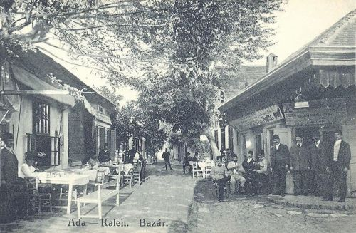 Ada-Kaleh,török bazár 1911