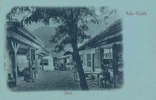 Ada-Kaleh:bazár.1899